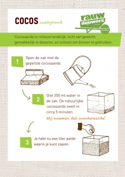 Instructie cocostablet