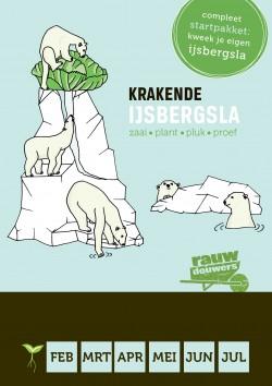 Moestuinpakket Krakende IJsbergsla