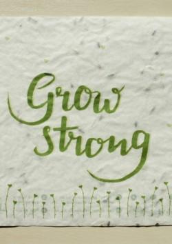 Goeikaart Grow strong